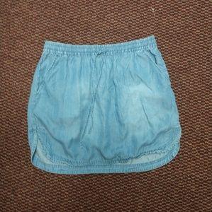 Merona jean skirt women's size medium